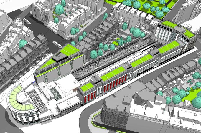 South Kensington Around Station Development
