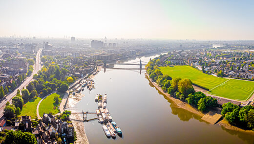 A combined approach for carbon reduction in London