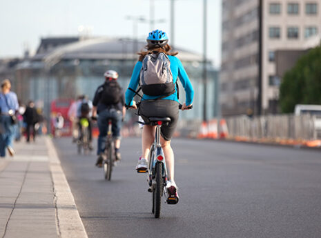 New report highlights the health benefits of cycling to work