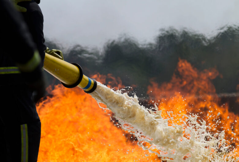Study on current and historic levels of poly- and PFAS fire fighting foams in the Republic of Ireland