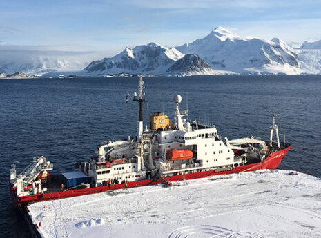 British Antarctic Survey's new wharf achieves first CEEQUAL Award in Antarctica