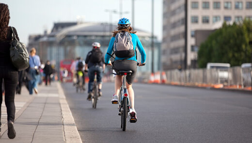 Sweco report highlights the health benefits of cycling to work